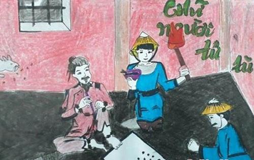 phan tich canh cho chu trong chu nguoi tu tu - [Văn mẫu học sinh giỏi] Phân tích cảnh cho chữ trong tác phẩm Chữ người tử tù của Nguyễn Tuân