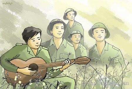 phan tich bai dong chi - [Văn mẫu học sinh giỏi] Phân tích bài thơ Đồng chí của Chính Hữu